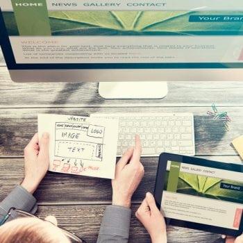 designing your new website