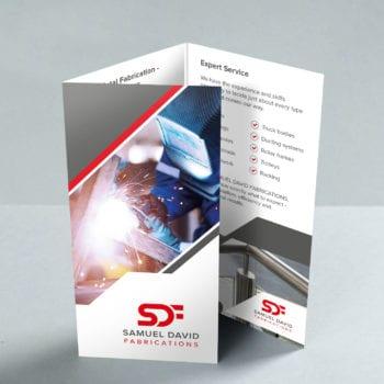 Samuel David Tri-fold Leaflet